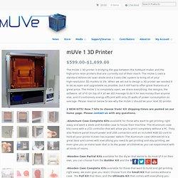 mUVe 1 3D Printer