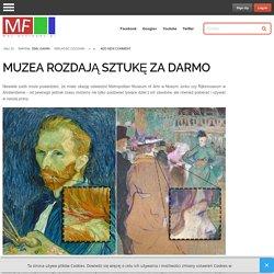Muzea rozdają sztukę za darmo