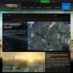 MechWarrior Online | Game