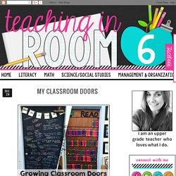 My Classroom Doors