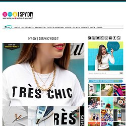 MY DIY | GRAPHIC WORD T | I SPY DIY