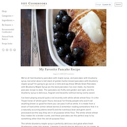 My Favorite Pancake Recipe