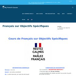 My French Course