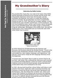 My Grandmother's Story