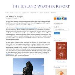 MY ICELAND: Drangey
