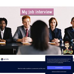 My job interview