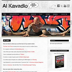 Al Kavadlo – We're Working Out! » My Links