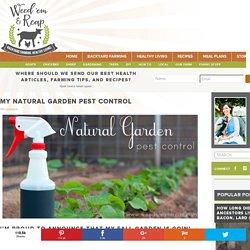 My Natural Garden Pest Control