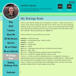 My Ratings Scale - Debbie's Spurts