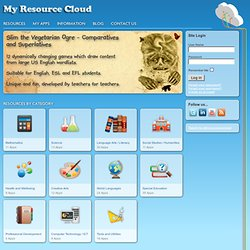 Welcome to My Resource Cloud