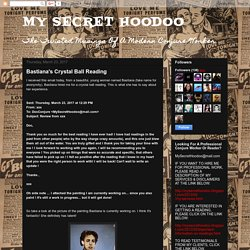 MY SECRET HOODOO