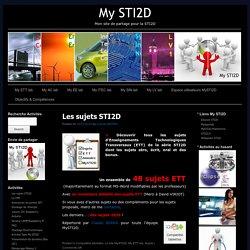 My STI2D – Mon site de partage pour la STI2D