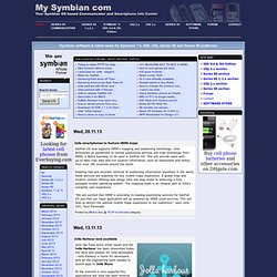 Symbian OS Communicators and Smartphones Info Center