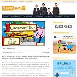 Serious game anglais : grammar ninja