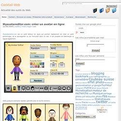 Myavatareditor.com: créer un avatar en ligne