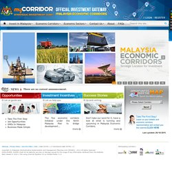 myCorridor - Official Investment Gateway : Malaysia Economic Corridors