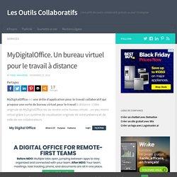 MyDigitalOffice. Un bureau virtuel pour le travail à distance