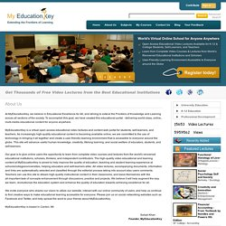 About Us : Learn Through Free Online Educational Videos and Lecture from Qualified Teachers.