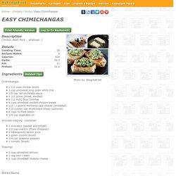 - Easy Chimichangas