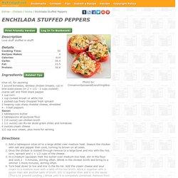 - Enchilada Stuffed Peppers