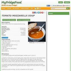 Tomato Mozzarella Soup