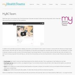 MyHealthTeams – MyBCTeam
