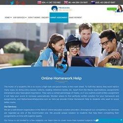 English Assignment Solution Online: All The Help You Need