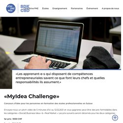 MyIdea Challenge