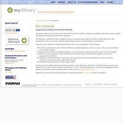 MyiLibrary