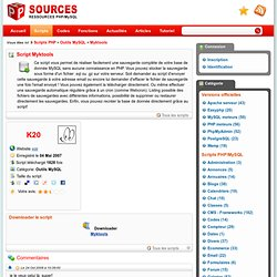 Myktools - script complet PHP