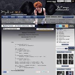 Le site référence sur Mylène Farmer