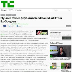 MyLikes Raises $630,000 Seed Round, All From Ex-Googlers