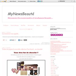 Le blog de mynewsbeaute.over-blog.com