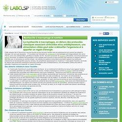 Myofasciite à macrophage et nutrition