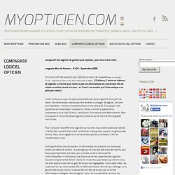 Comparatif Logiciel Opticien, Winoptics, ivoirnet, Optimum, atolsoft