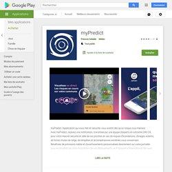 myPredict – Applications sur GooglePlay