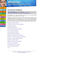MyRead – Four Resources Guideposts