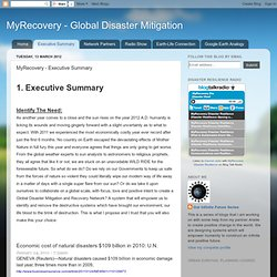 MyRecovery - Executive Summary