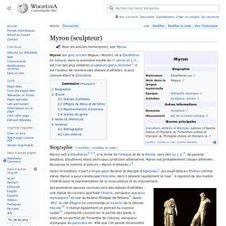 Myron (sculpteur)