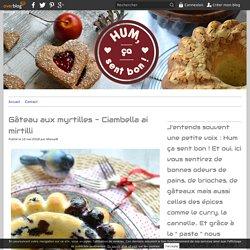 Gâteau aux myrtilles - Ciambella ai mirtilli