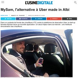 MySam, l'alternative à Uber made in Albi