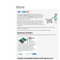MySensors - Store