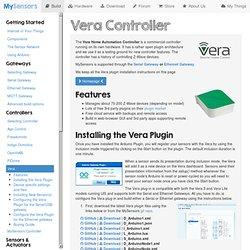MySensors - Vera Controller