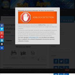 mysimpleshow: utilidad web gratuita que genera vídeos de tus textos