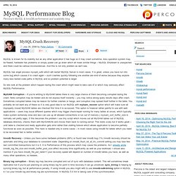 MySQL Performance Blog