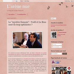 """Le """"mystère français"""" : Todd et Le Bras sont-ils trop optimistes ?"""