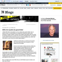 DSK et le mystère du grand hôtel