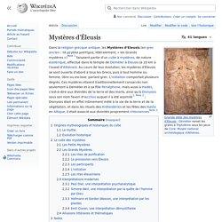 Mystères d'Éleusis