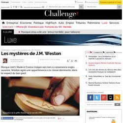 Les mystères de J.M. Weston - 5 janvier 2012