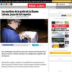 Les mystères de la grotte de La Baume-Latrone, joyau de l'art rupestre